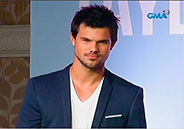 Look who's here? Taylor Lautner!
