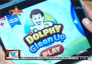 Dolphy Clean Up digital application to help care for nature