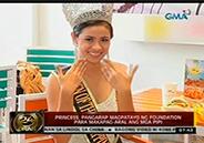 Deaf-mute girl wins in beauty pageant