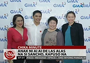 Ai-Ai delas Alas's son Sancho signs up with GMA-7