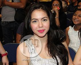 """Julia Montes on Daniel Padilla's concert: """"Ako ang unang kinikil"""