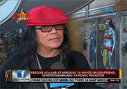 "Freddie Aguilar on his 16-year-old gf: ""Mahal ko po si Jovy.."