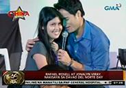 Rafael Rosell and Jonalyn Viray grace Davao Del Norte Day