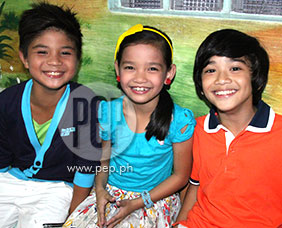 Celeb kids excited about new station ID!