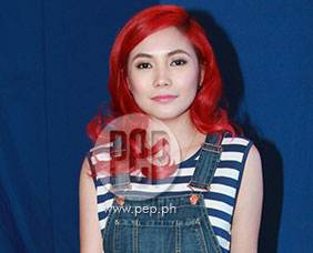 Yeng Constantino tells the press about her newfound