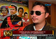 Makati court finds Baron Geisler guilty of acts of lasciviousness
