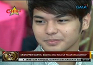 Kristoffer Martin plays gay role in Magpakailanman