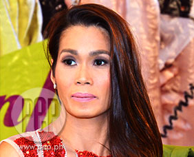 "Pokwang in tears during ""Call Center Girl"" press conferenc"