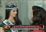2013 Miss World Megan Young arrives to help victims of Yolanda