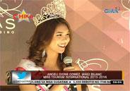 Angeli Dione Gomez wins Miss Tourism International 2013-2014