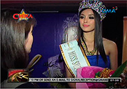 Miss Supranational 2013 Mutya Johanna Datul returns to Manila