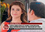 Carla Abellana and Gabby Concepcion start taping for <em>Because