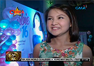 Barbie Forteza celebrates 16th birthday