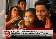 <em>My Bebe Love</em> cast start photo shoot for their mov