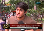Aljur Abrenica affected by recent statements of Robin Padilla against