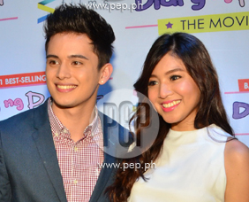 James Reid and Nadine Lustre happy with box-office result of movie
