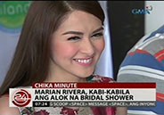 Marian Rivera says she felt like crying after trying on Michael Cinco'