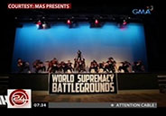 UP-Diliman dance group Upeepz champion at World Supremacy Battleground