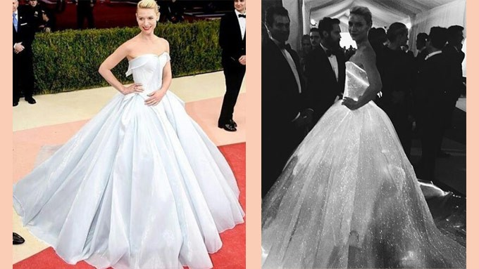 Claire Danes Quot Glow In Dark Quot Gown And More At Met Gala 2016
