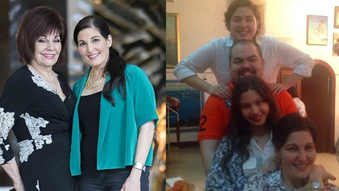 What Jackie Lou Blanco learned from her mom about motherhood