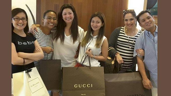 LOOK: Regine gives co-stars Gucci, Louis Vuitton, Jo Malone