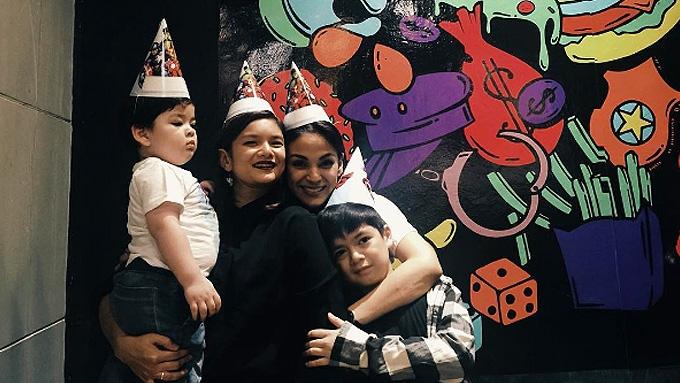 Meryll Soriano celebrates Elijah's birthday with