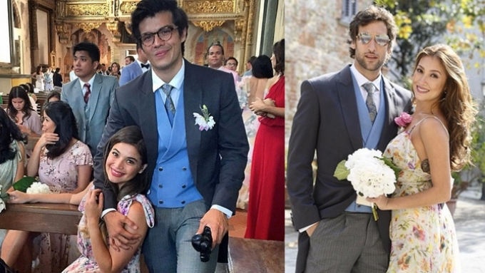 IN PHOTOS: Celebs spotted at Isabelle and Adrien's wedding