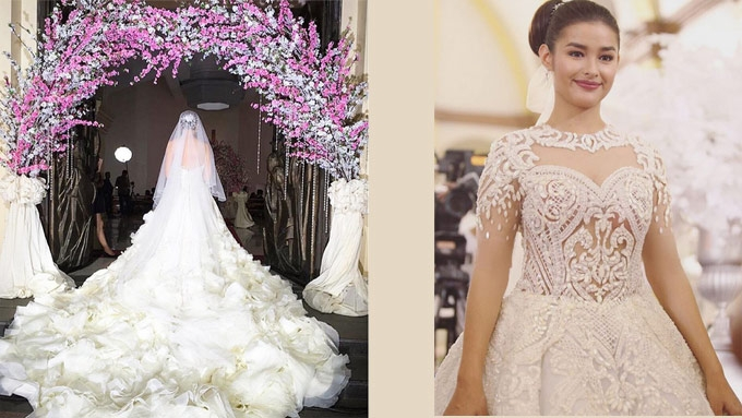Celebrity brides and their Francis Libiran gowns