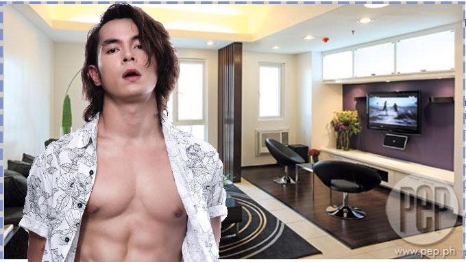 Jake Cuenca and his bachelor's pad in Mandaluyong City