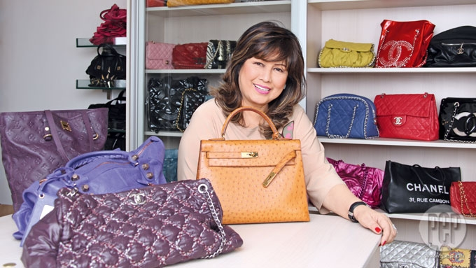 SNEAK PEEK: Annabelle Rama's collection of designer bags