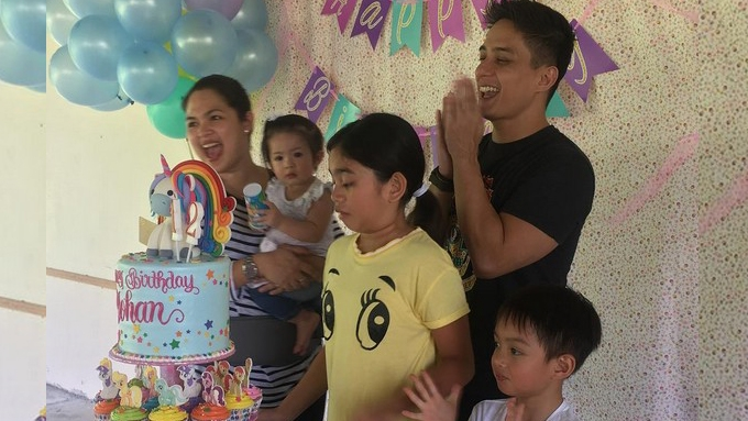 Juday, Ryan's daughter Yohan celebrates 12th birthday