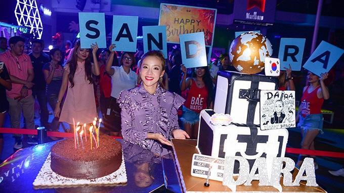 IN PHOTOS: Sandara Park's travel-themed birthday bash