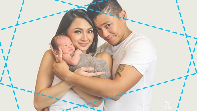 Iya and Drew's Baby Primo welcomed to Christian world