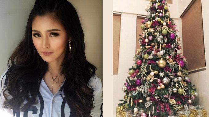 The tale of Kim Chiu's Christmas tree