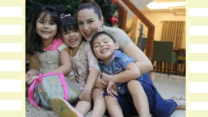 The newly-discovered talent of Cheska Garcia Kramer and kids