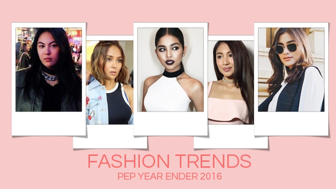 PEP YEAR ENDER 2016: Top 10 fashion trends in showbiz