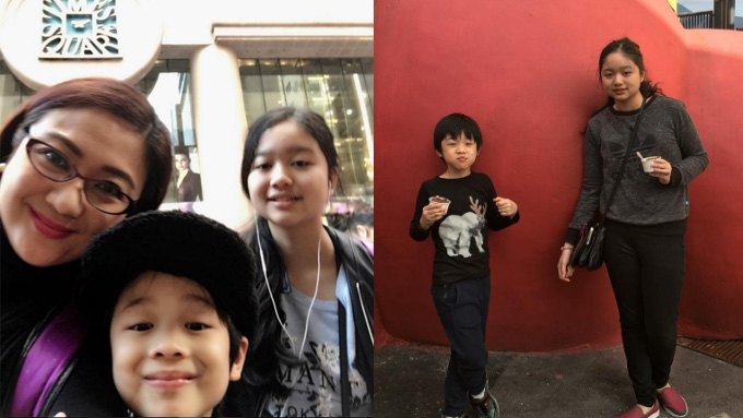 Meet Julius Babao and Tintin Bersola's kids Anya and Nio