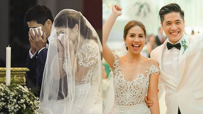 10 most memorable celebrity wedding moments