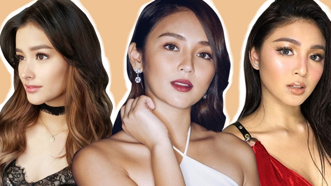 Liza, Kathryn, and Nadine blaze the stage in red