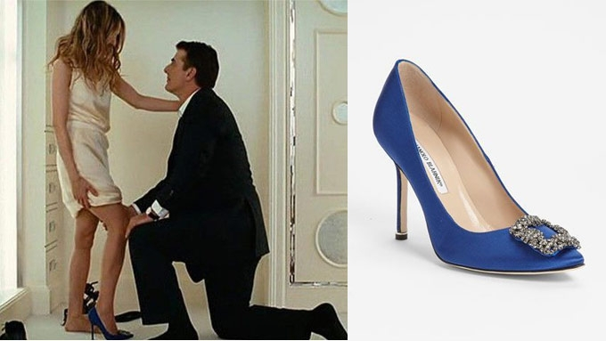 The Shoes Manolo Blahnik Worn By Carrie Bradshow