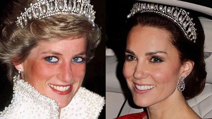 Five times Kate Middleton reminded us of Princess Diana