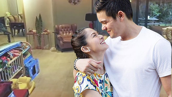 Dingdong and Marian give GMA fans a quick tour of house