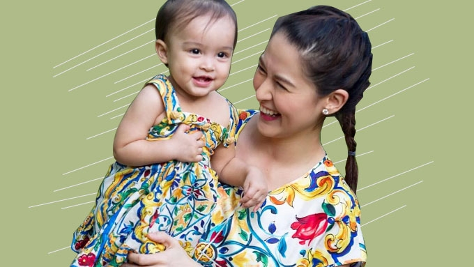 What is Marian Rivera's Christmas wish for Baby Zia?
