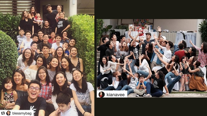 Biggest showbiz family reunions this Christmas