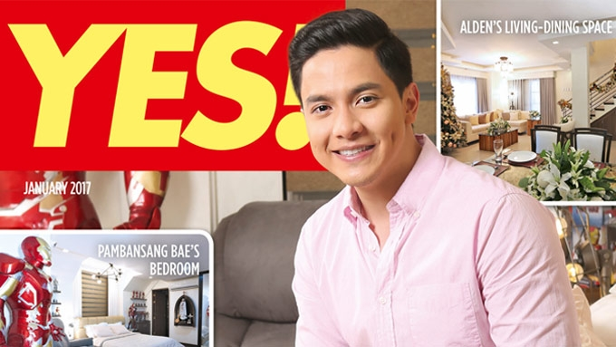 A few things you should know about Alden's dream house