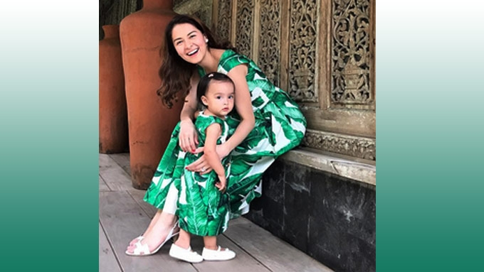 The D&G leaf dresses of Marian, Zia are celeb favorites