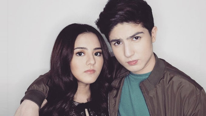 Cassy and Mavy Legaspi get swimming party for 16th birthday