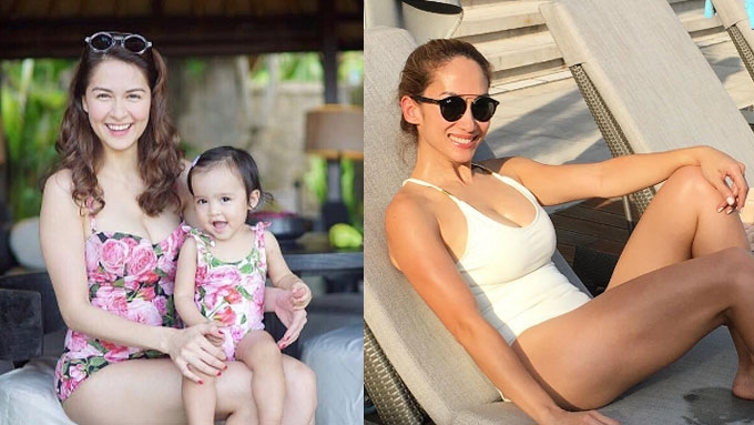 Fit-inspiration: 12 celebrity moms in bikinis
