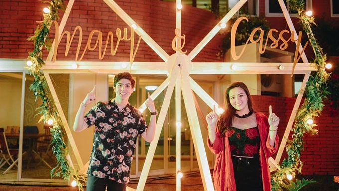 A glimpse of Mavy and Cassy Legaspi's Coachella night