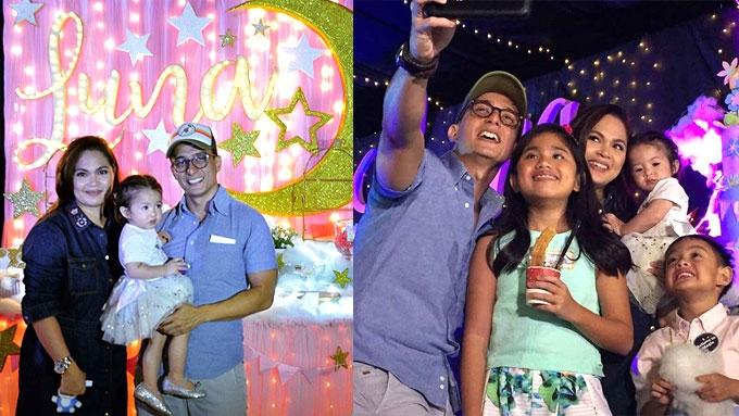 Baby Luna Agoncillo celebrates 1st birthday under the stars